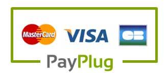 Payplug - Paiement sécurisé par Carte Bancaire