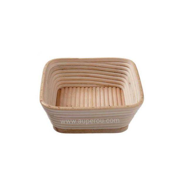 Banneton à fermentation en rotin moule bie carré - MATFER réf 118528