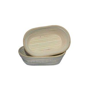 Banneton à fermentation en rotin moule bie ovale - MATFER réf 118501-118502