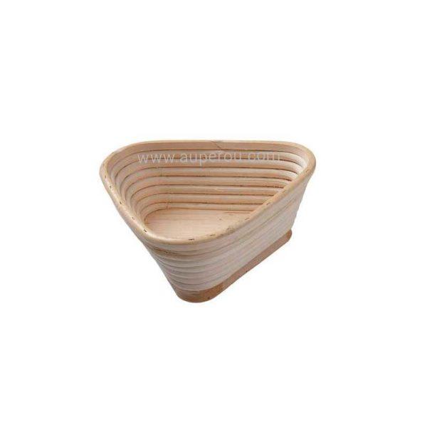 Banneton à fermentation en rotin moule bie triangle - MATFER réf 118525 - 118526