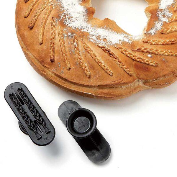 Découpoir décor à pain, 2 épis de blé - MATFER réf 154101