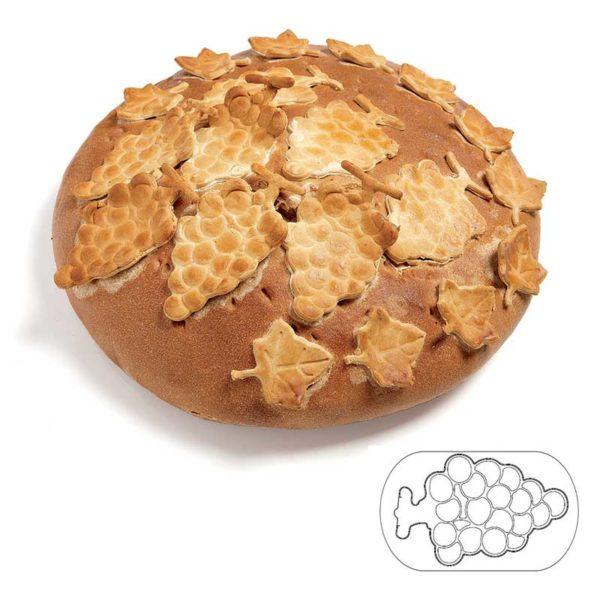 Découpoir décor à pain Exoglass® Grappe de raisin - MATFER réf 154103
