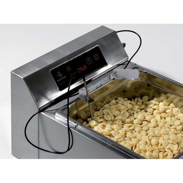 Sonde avec support inox pour trempeuse à chocolat - MATFER réf 260590