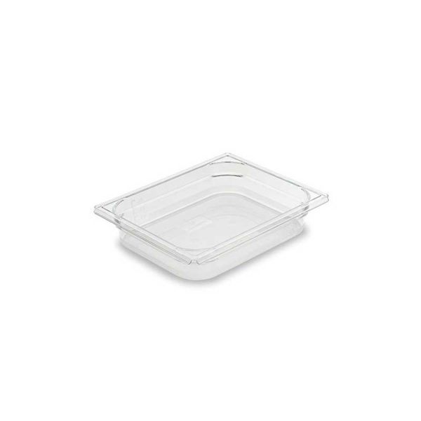Bac Gastronorme Cristal+ GN 1/2 en Copolyester - MATFER réf 753106, 753110, 753115 et 753120