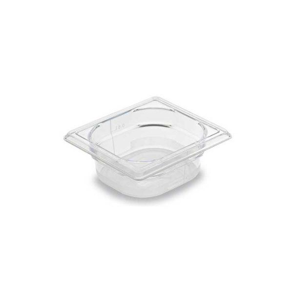 Bac Gastronorme Cristal+ GN 1/6 en Copolyester - MATFER réf 756106, 756110 et 756115