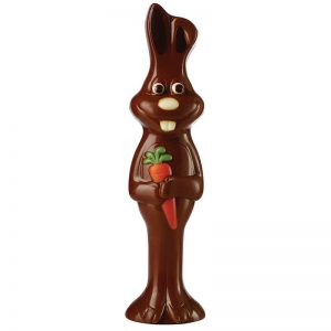 Moule à chocolat 2 empreintes pour 1 Lapin Bunny - MATFER réf 382065