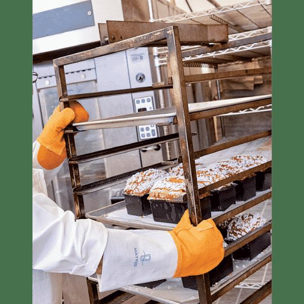 Paire de moufles de protection thermique Grand Modèle - MATFER réf 773002