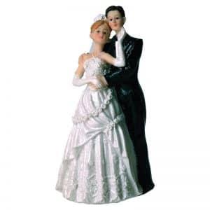 "Figurines Mariage - 2 Couples de mariés ""Paris"" - Matfer 877070"