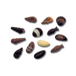 Moule friture Fruits de mer Chocolat de Pâques - Matfer 380200