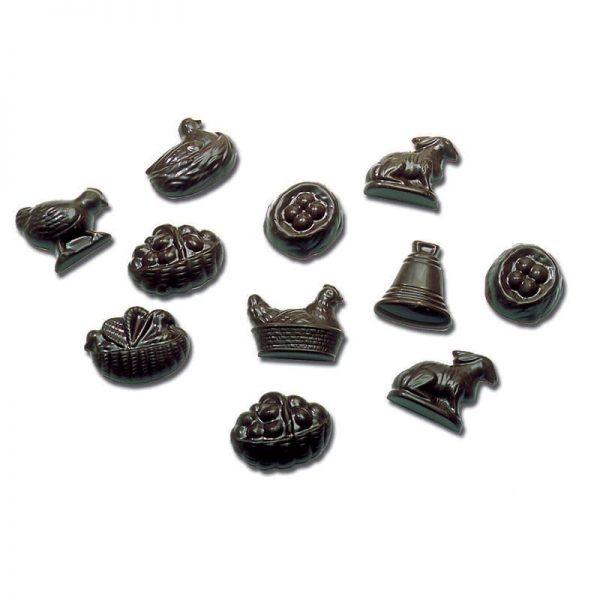 Moule Friture chocolat Pâques - Matfer 382001