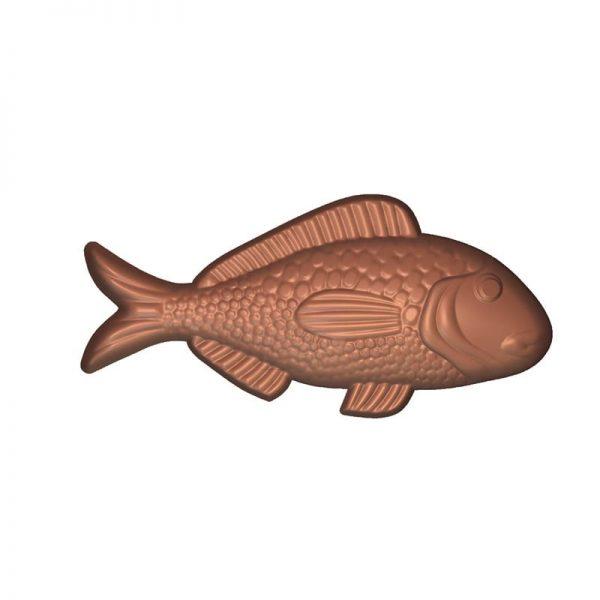 Moule à chocolat Friture 21 poissons Pâques - Matfer 380203