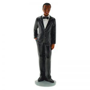 Figurine Marié Noir - Matfer 877120