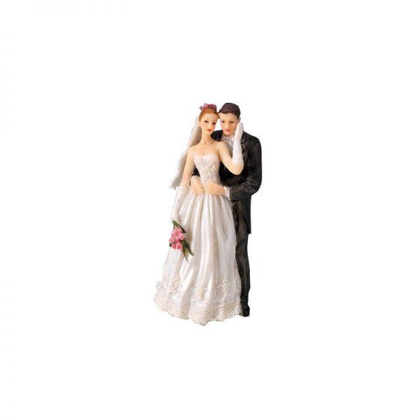 "Figurines Mariage Couple mariés ""Margot"" - Matfer 877171"