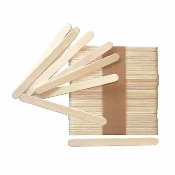 Bâtonnets pour sucettes - Lot de 1 000 bâtonnets en bois - Matfer Bourgeat 389099