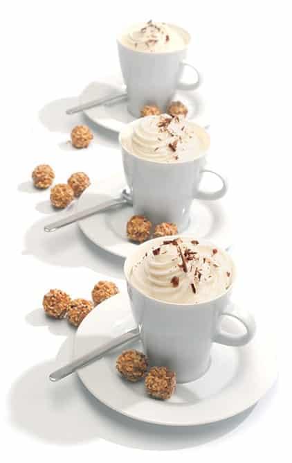 """Exemple de réalisation avec le siphon à crème """"iSi"""" Cream Profi - Matfer Bourgeat 044176"""