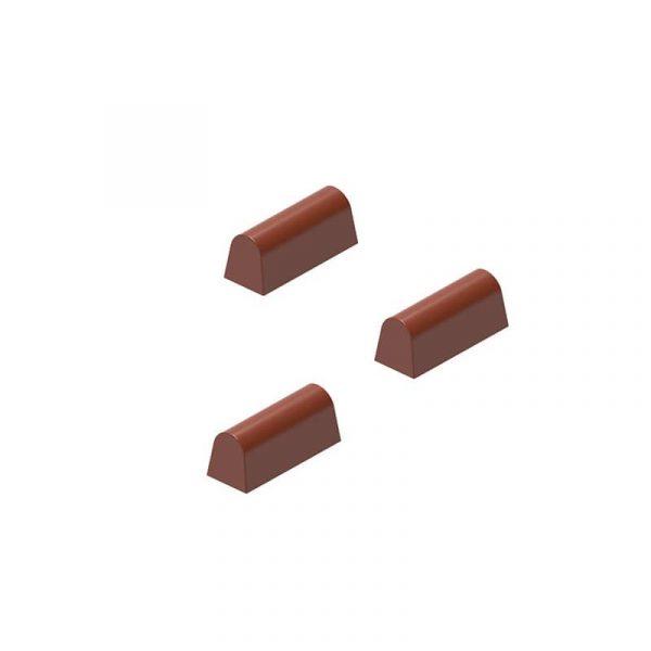 Moule à chocolat Bonbon Oblong - Matfer 383004
