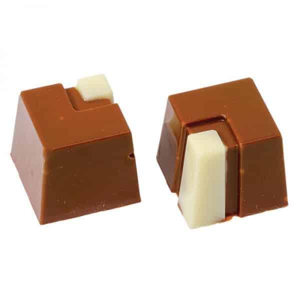 Moule à chocolat Bonbons Carres - Matfer 380264