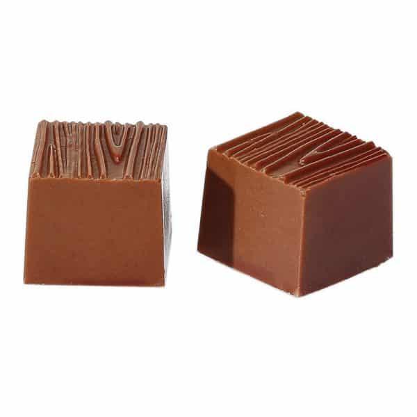Moule à chocolat Carre motif bois - Matfer 380122