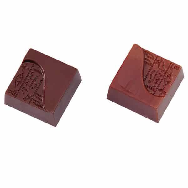 Moule à chocolat - Carré hiéroglyphe - Matfer 383307