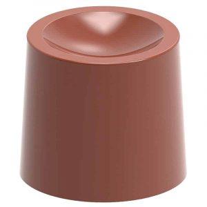 Moule à chocolat Cylindres concaves - Matfer 383301