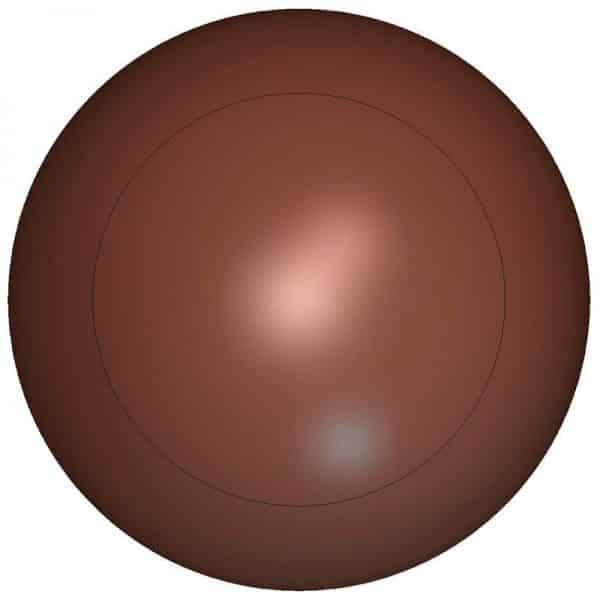 Moule à chocolat Demi-sphère - Matfer 382051