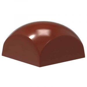 Moule à chocolat Dômes carrés - Matfer 380187
