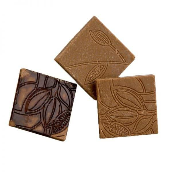 Moule à chocolat -Napolitains texture cacao - Matfer 383207