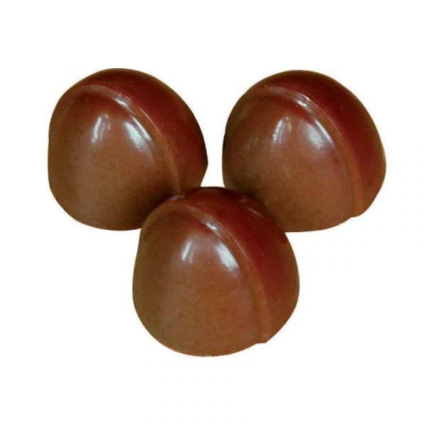Moule à chocolat Pomponettes décalées -Matfer 383602