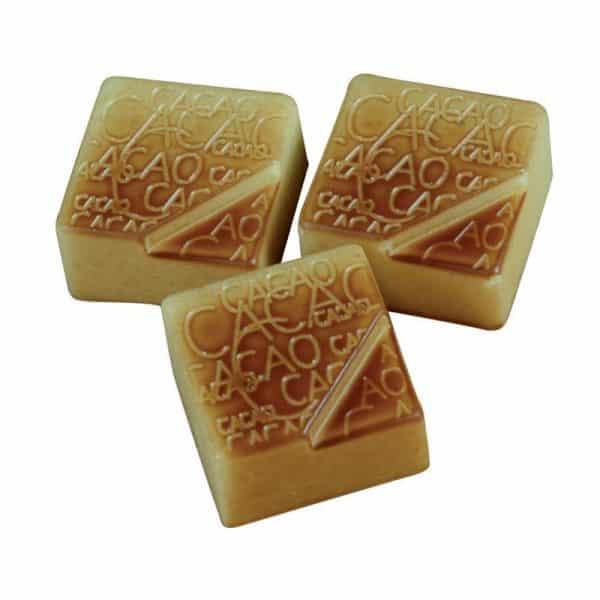 """Moule à chocolat Pralines Carrées """"Cacao"""" - Matfer 383204"""
