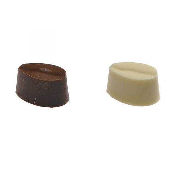 Moule à chocolat Bonbons ovales rayés - Matfer 380161