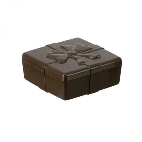 Moule à chocolat Boite Carrée Ruban - Matfer 381008