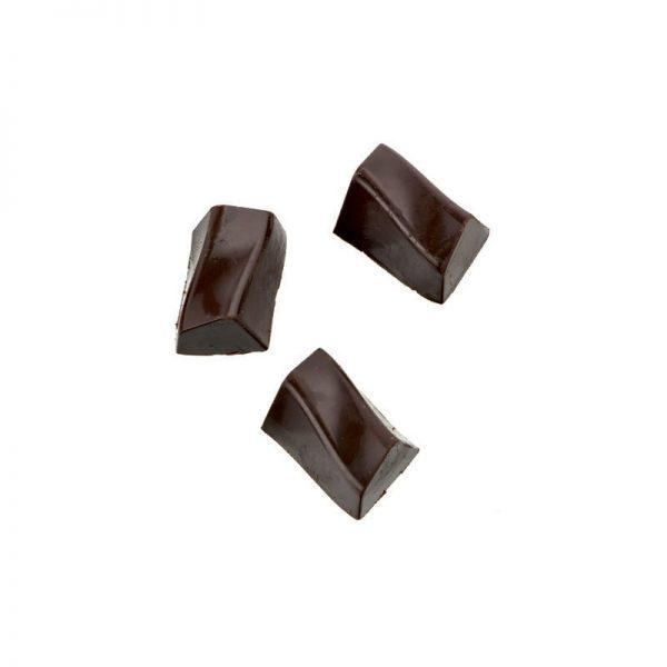Moule à chocolat Bonbons Rectangles ZigZag - Matfer 380160