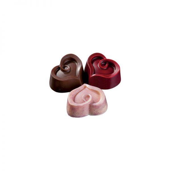 Moule à chocolat Cœurs - Matfer-380269