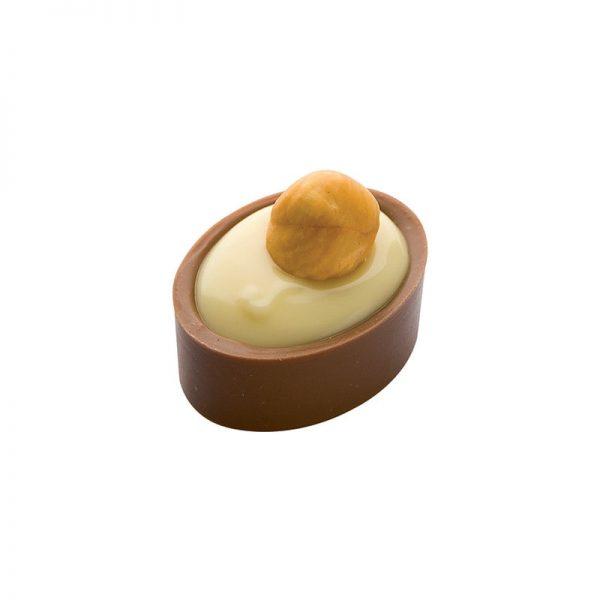 Moule Coques ovales pour Bonbons en chocolat - Matfer 383502