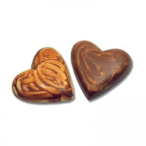 Moule à chocolat Demi-Cœur - Matfer 382233