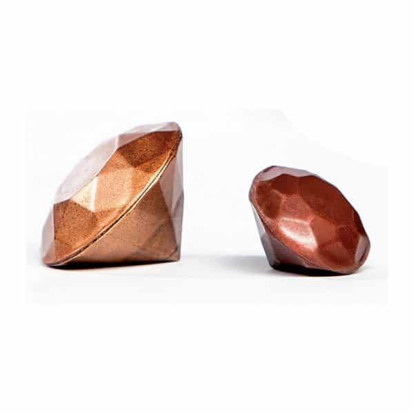 Moule à chocolat Diamants - Matfer 383008