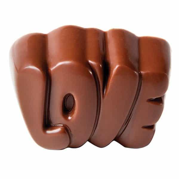"""Moule à chocolat """"LOVE"""" - Matfer 383608"""