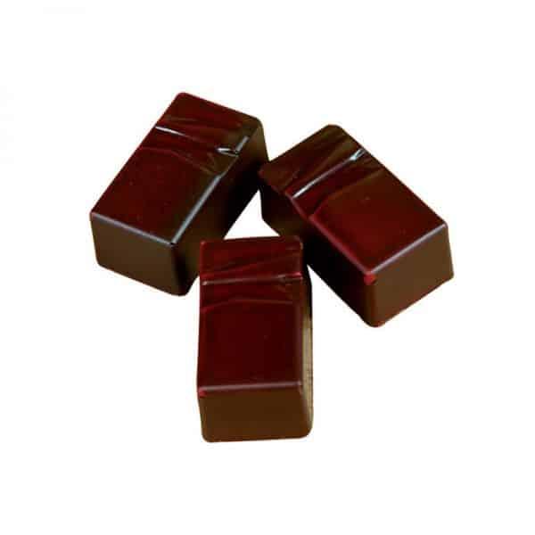 "Moule à chocolat Pralines Rectangulaires ""Structure"" - Matfer 383404"
