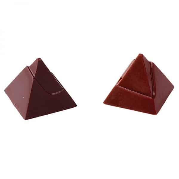 Moule à chocolat Pyramide Égyptienne - Matfer 383305