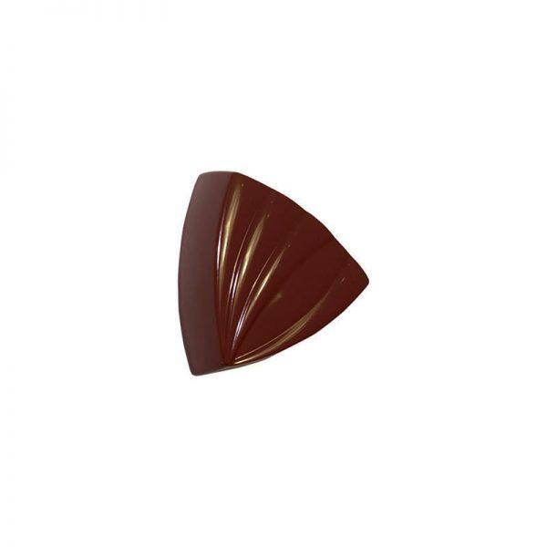 Moule à chocolat Bonbons Triangles Rayés - Matfer 380165