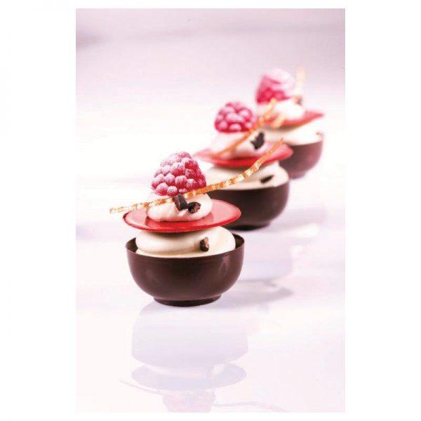 Moule à chocolat mini-bols - Matfer 380257