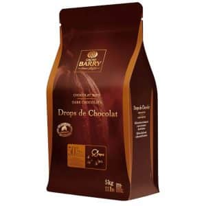 Drops de chocolat noir Barry