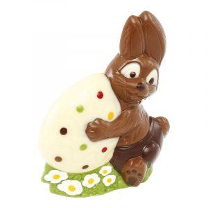 Moule pour un ensemble Lapin et Œuf en Chocolat de Pâques - Matfer 382217