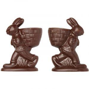Moule pour un Lapin avec panier à garnir en Chocolat de Pâques - Matfer 382073