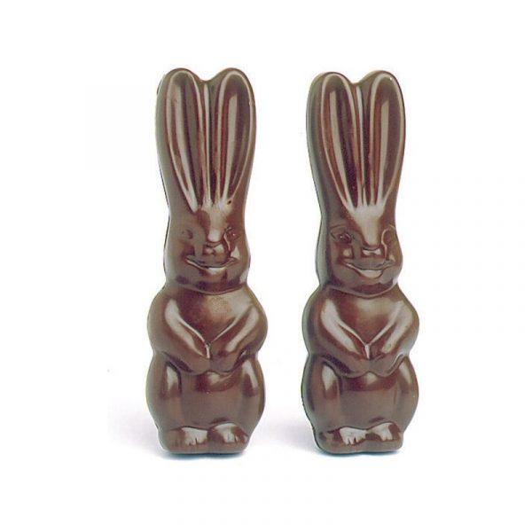 Moule 12 empreintes pour 6 Lapins en Chocolat de Pâques - Matfer 382064