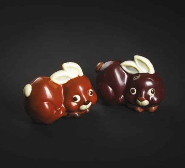 Moule Chocolat de Pâques - Petit Lapin - Matfer 382074