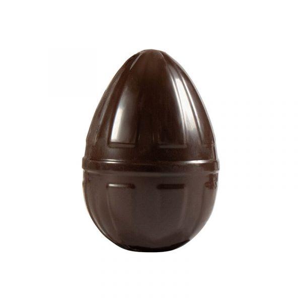 Moule à chocolat de Pâques - Œuf motif vertical - Matfer 382116
