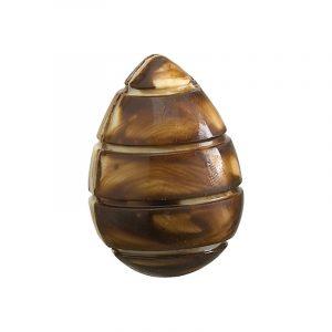 Moule chocolat de Pâques 19 empreintes Œufs Spirale - Matfer 383716