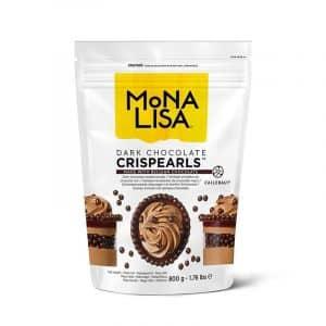 Crispearls™ chocolat noir Mona Lisa - Sachet 800 gr