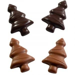 Moule chocolat Mini-sapin de Noël - Matfer 380174